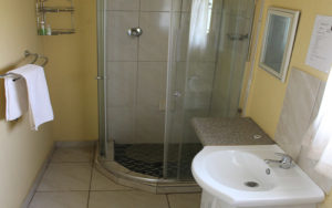 executive room with shower
