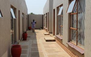 sisonke gueshouse passage way to rooms